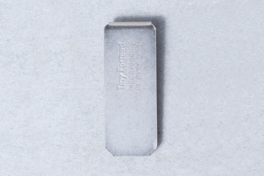 Tiny Formed_moneyclip