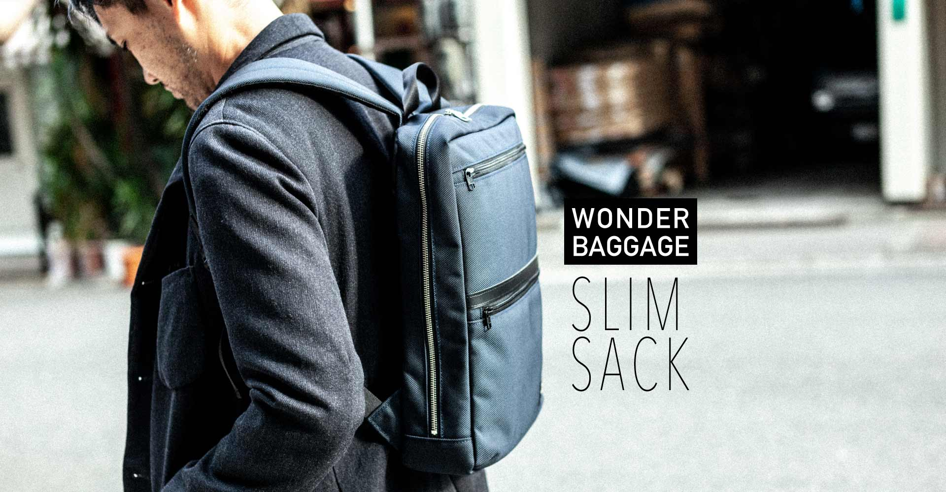 WONDERBAGGAGE slim sack